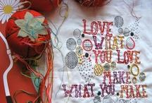 Sewing::Textiles / by Idalia Barlow