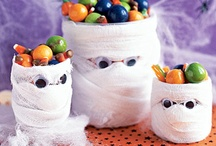 Spooky Stuff  / Well, not really spooky.  But fun things for Halloween (including our spoooooooky meal).