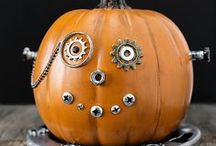 Holidays Halloween, Fall Decor and DIY / Fall, Halloween, and Thanksgiving decorating and DIY / by Lisa - Condo Blues & Lazy Budget Chef