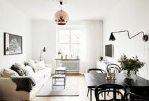 Small Space Living / Inspiration to decorating Small Spaces such as loft or apartments.
