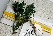 Holidays Gift Wrap Ideas / Beautiful ways to wrap gifts / by Lisa - Condo Blues & Lazy Budget Chef
