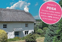 Holiday Cottages / For every holiday booked, cottages4you donates 10% of the booking value to PDSA to help provide our vital PetAid services, so as well as finding a great holiday, you will be helping sick and injured pets too.