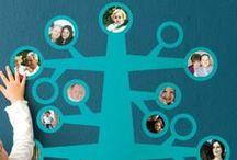 Decoración para enamorados de la genealogía / Tips para decorar tu casa con motivos genealógicos.