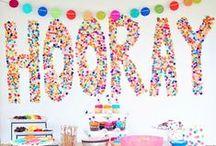 Birthday: Balloon/Confetti/Streamers Birthday