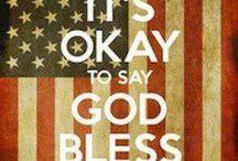 God Bless America !! / by Nan Johnson