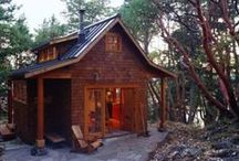 Gambier Ideas / Bunkies, Off Grid, Coastal, Tiny Cabins, Outdoor Kitchen / by whistlerkristen
