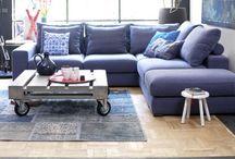 Hoekbank hoekbanken stof, leer / Hoekbank, hoekbanken, chaise lounges in stof of leer natuurlijk bij de mooiste Woonwinkel van Twente