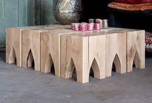 Salontafel bijzettafel hoektafel wijntafel tafels salontafels / Op ambachtelijke wijze worden in onze eigen meubelmakerij uit oud hout prachtige meubels gemaakt waaronder: salontafels hoektafel bijzettafel wijntafel salontafel