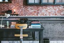 Urban Rustic Interiors / For the Coffee Lovers, who adore having some wood accents at home