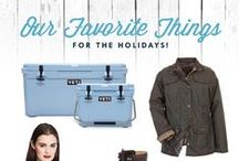 A Few of Our Holiday Favorites / Your Holiday gift guide from Redix... full of Christmas outfits, gift ideas and stocking stuffers!
