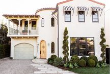 Curb Appeal / Beautiful home exteriors, front doors and lawns.