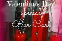 Bar Carts and Bars / I have an obsession lately with all things bar cart related and love to share the ones that have inspired me. Over time I have found a need to share all Bars, wet bars, dry bars, hot chocolate bars and maybe even an ice-cream or Brownie Bar. call it a Bar and i am your gal