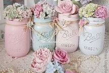 Mason Jar Crafts / using mason jars as crafts and gifts