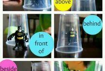 Kindergarten Positional Words