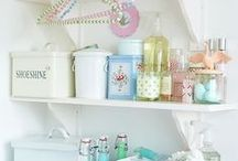 Laundry Room / storage and decor ideas for your laundry room