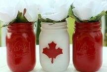 Canada Day Parties / Celebrating Canad's Independence in true party style. Various themes and party ideas