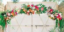 Wedding: Tropical Garden