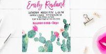 Bachelorette Party: Desert Fiesta / Desert fiesta themed bachelorette party