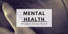 Mental Health Bloggers Group Board / Posts regarding mental health and mental illness from the best mental health bloggers out there. If you're a blogger and would like to join the group, follow the board and me and send then send me a direct message with your request to join.