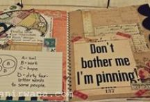 Smash and Wreck This Journal / Smash books, junque journals, and ways to save memories