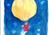 Balões, balõezinhos.. / by Letícia Mayrink