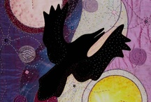 Ravens, feathers & nests / ravens speak to my heart