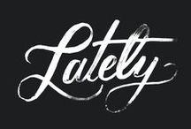Typography / by Rebecca Mortensen