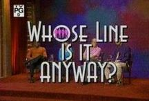 Whose Line Is It Anyway? / by Marissa K.