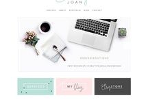 Minimalist WordPress / Templates I recommend considering for a clean, modern aesthetic and brand
