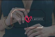CK loves g / TV personality and blogger Courtney Kerr collaborated with gorjana to create a capsule collection / by gorjana