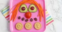 Food Fun for Little Ones / Add some fun to your little one's meal times and create one of our Organix fun food plates!