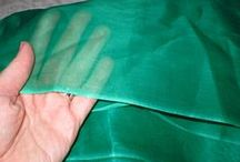 Selecting Sheer Fabrics / selecting sheer fabrics to create quilt embellishments