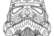 Adult coloring / Remember what it was like to color as a kid. Try new (old favorite) things.