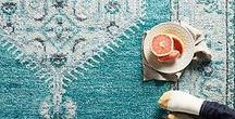 Rug Design / The best Rug Designs to inspire you! Full of color, patterns and of course contemporary rugs.