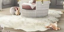 Kids rugs / Rugs are a must when talking about kids rooms! They keep them safe and comfy. And the best is that you can be as creative as you want because we are talking about a childhood full of dreams.