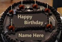 Happy Birthday Cakes / Write Name on Birthday cakes and cards wishes to her family , cake for girls name edit,cake for boys name edit friends and All those who love his someone.write name on birthday greeting card online