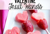 Healthy Valentines Day ideas / Healthy ideas and recipes to try with your little valentines.