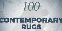 100 Contemporary Rugs | The ebook / 100 contemporary rugs for your home decor. Take a look!