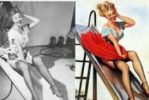 PINmeUp: pinup poses and style / Pin up poses, style, tips / by Va-Voom Vintage