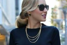 Beautiful Professional / Effortlessly Chic for a hard days work.