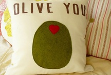 Throw pillows / A desperate desire for adorable cushions / by Va-Voom Vintage