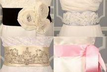 Wedding Dress Sashes & Crystal Brooches at Your Dream Dress