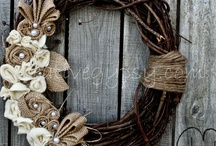 Banners/Wreaths/Cards / by Judy Butler