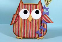 Owl Cards and Tags