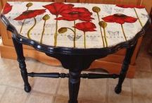 Furniture Refurbs / by Denise Red Flower Fanatic