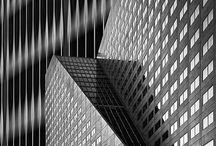 """Graphics Lines \ / """" L'architecture, c'est une tournure d'esprit et non un métier. """" Le Corbusier"""