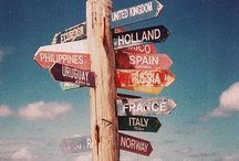Places I'd Like to Go ✈ / My bucket list places ✈⛵