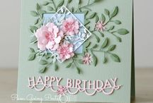 Birthday Cards and Tags