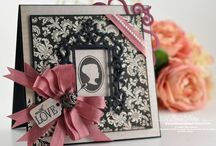 Black and white cards and tags