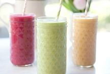 Juices + Smoothies / Delicious juices & smoothies that even Jason Vale (The Juice Master) would envy ;-)